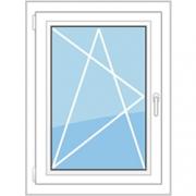 окно поворотно - откидное одностворчатое